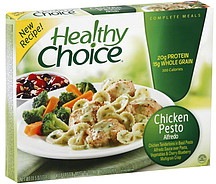Healthy Choice Chicken Pesto Alfredo