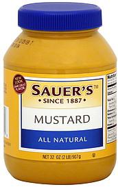 Sauer's Mustard