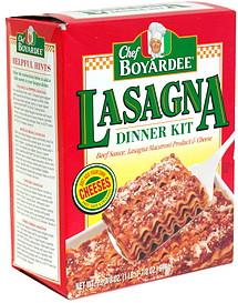 Chef Boyardee Lasagna Dinner Kit