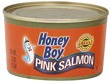 honey boy pink salmon 7 5 oz nutrition information shopwell. Black Bedroom Furniture Sets. Home Design Ideas