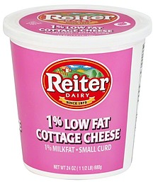 Reiter Dairy Cottage Cheese Small Curd 1 Milkfat 1 Low