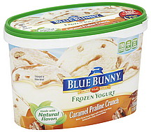 Blue Bunny Frozen Yogurt Low Fat, Vanilla Bean 1.75 qt ...