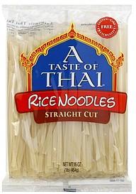 A Taste Of Thai Rice Noodles Straight Cut 16 0 Oz