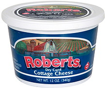 Roberts Cottage Cheese Dry Curd 12 0 Oz Nutrition