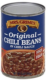 Mrs Grimes Chili Beans