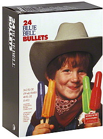 Blue Bell Bullets 24 0 Ea Nutrition Information Shopwell