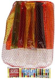Bolis Ice Pops Assorted Fruit Flavors 24 0 Ea Nutrition