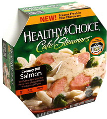 healthy choice salmon creamy dill 9 8 oz nutrition information shopwell. Black Bedroom Furniture Sets. Home Design Ideas