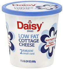 Daisy Cottage Cheese Small Curd, 2% Milkfat, Low Fat 24.0 ...