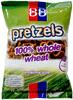 100% Whole Wheat Pretzels