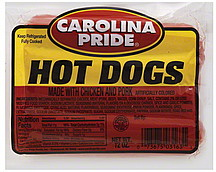 Carolina Pride Hot Dogs