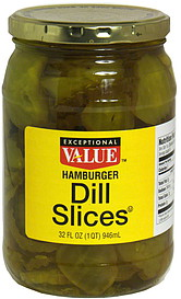 Exceptional Value Dill Slices
