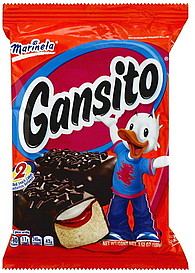 Marinela Snack Cakes Gansito 2 0 Ea Nutrition Information