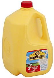 Mayfield Milk Reduced Fat 2 Milkfat 1 0 Gl Nutrition