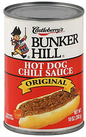 Castleberry Hot Dog Chili Sauce Nutrition
