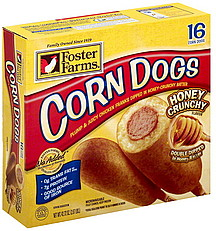 Buy Foster Farms Corn Dogs Honey Crunchy Flavor - 16 CT from Safeway online and have it delivered to your door in 1 hour. Your first delivery is free. Try it today! See terms.