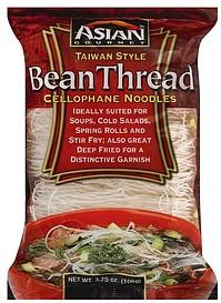 Asian Gourmet Cellophane Noodles Bean Thread Taiwan Style