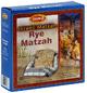 Rye Matzah