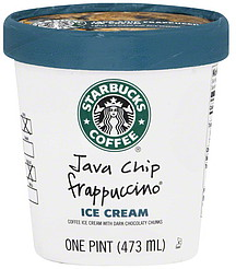Starbucks Coffee Ice Cream Java Chip Frappuccino 1.0 pt Nutrition ...