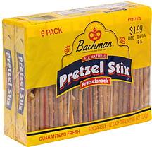 Bachman Pretzel Stix 6 0 Ea Nutrition Information Shopwell