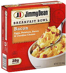 Jimmy Dean Breakfast Bowl Bacon 7 0 Oz Nutrition