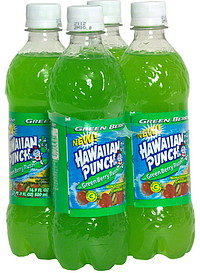 Hawaiian Punch Fruit Punch Green Berry Rush 4 0 Ea