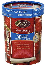 Open Nature Frozen Yogurt