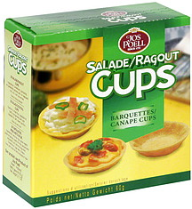 jos poell salad cocktail cups 2 1 oz nutrition information