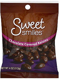 Image result for chocolate covered raisins smile