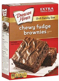 how to make chewy brownies from box mix