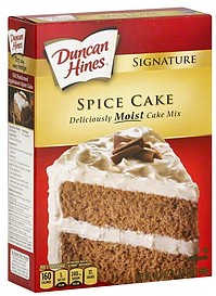 Duncan Hines Sugar Free Cake Mix Nutrition