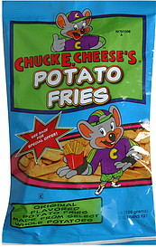 Chuck E. Cheese's Potato Fries