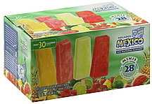 Helados Mexico Fruit Bars Minis, Pineapple, Watermelon, Lime ...