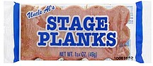 Uncle Als Stage Planks 1.75 oz Nutrition Information | ShopWell