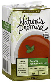 Nature S Promise Vegetable Broth