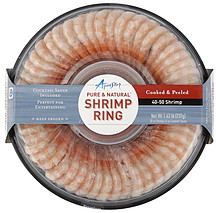 Aqua Star Shrimp Ring