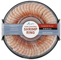 Aqua Star Shrimp Ring