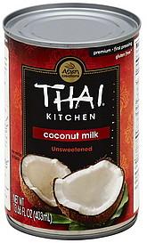 Thai Kitchen Coconut Milk Premium Unsweetened Oz Nutrition Information Shopwell