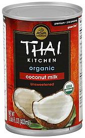 Thai Kitchen Coconut Milk Organic Unsweetened Oz Nutrition Information Shopwell