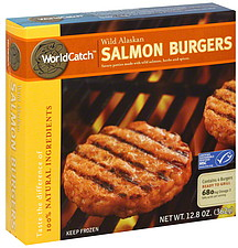 WorldCatch Salmon Burgers