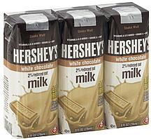 Hersheys Milk 2% Reduced Fat, White Chocolate 3.0 ea ...