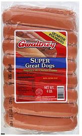 Gwaltney Chicken Hot Dogs Ingredients
