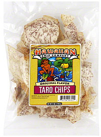 Hawaiian Chip Company Taro Chips Original Flavor 4.0 oz Nutrition ...
