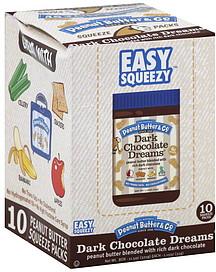 Peanut Butter Dark Chocolate Dreams Nutrition Information