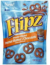 Chocolate Covered Pretzels Flipz Nutrition