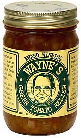 Wayne's Green Tomato Relish