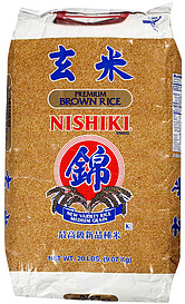 Nishiki Rice Premium Brown Rice 20.0 Lb Nutrition