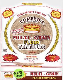 Romero's Flour Tortillas