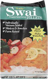 The fishin 39 company swai fillets 16 0 oz nutrition for Swai fish nutrition
