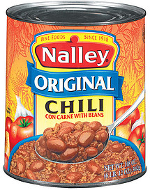 Birds Eye Sam's Club Nalley Chili Original Con Carne W/Beans 108.0 Oz ...